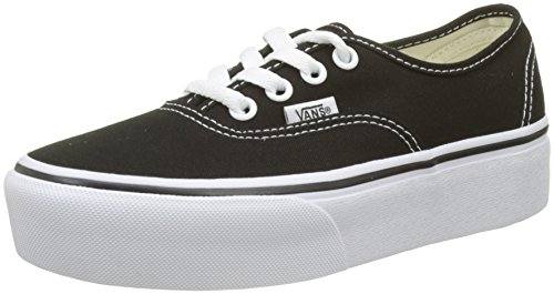 Authentic Vans Baskets Noir Platform 2 Femme black Blk 0 OArOdzx