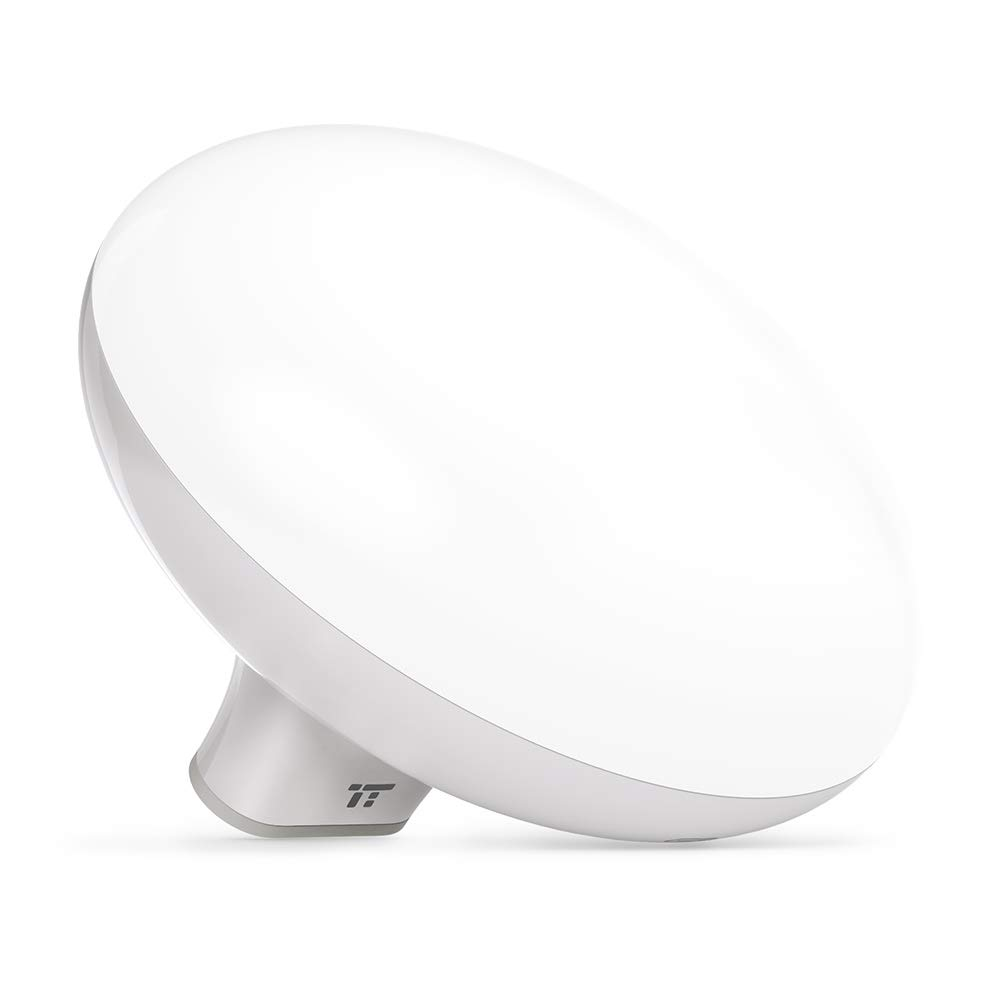 TaoTronics Light Therapy Lamp, 10000 Lux LED Light Source, Touch & Button Control with 3 Adjustable Brightness, Compact Size by TaoTronics