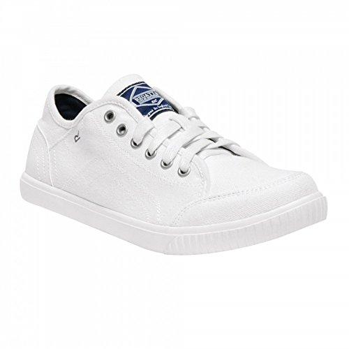 Regatta Womens/Ladies Turnpike Lite Lightweight Canvas Shoes White/navy