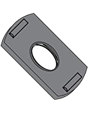 10-24 Weld Nut with Two Projections Steel Plain (Pack Qty 1,000) BC-10NWP2-2 by Shorpioen