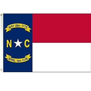 Carolina del Norte 3x 5bandera de poliéster