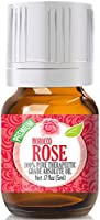 Rose Absolute Oil (Moroccan) - Premium Grade, 5ml by Healing Solutions Essential Oils