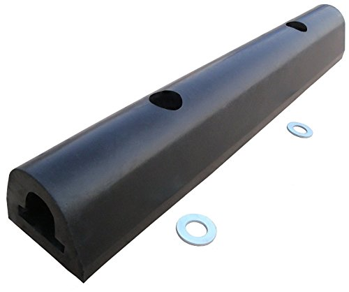 YM D6466 Hard Rubber Extruded Dock Bumper, 12