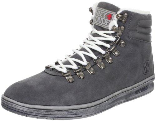 Dude - Zapatillas de ante para hombre negro - Charcoal