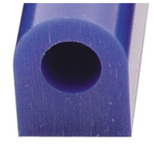 Carving Wax Ring Tube, Large Flat Side Tube, Blue | ()