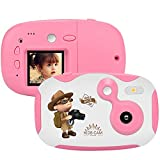 weton Kids Digital Camera, 1.44 inch Digital Video Camera Creative DIY Camera