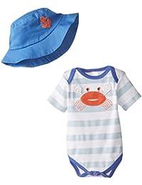 Baby-Boys Newborn Fun In The Sun Bodysuit and Hat