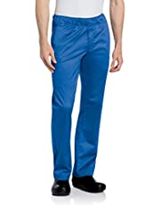 Landau Men's Comfortable Elastic Waist Stretch Cargo Scrub Pant Uniform