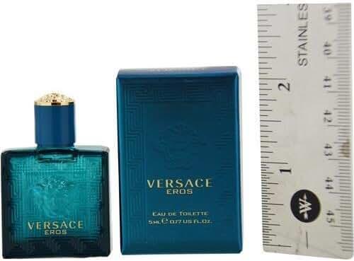 Versace Eros EDT Cologne, 0.17 Ounce