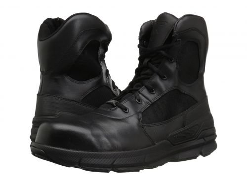 Bates Footwear(ベイツ) メンズ 男性用 シューズ 靴 ブーツ 安全靴 ワーカーブーツ Charge Comp Toe Side Zip Black [並行輸入品] B07DNPW72G 9.5 D Medium