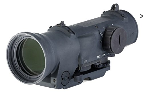 Elcan Specter Dual Role 1.5x/6x Optical Sight CX5455 Illuminated Crosshair Reticle - Optic Spectre