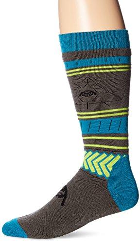 Volcom Men's See All Sock, Blue/Black, Small/Medium