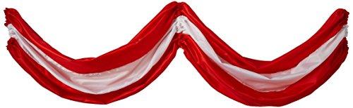 (Beistle 50948-RW Party Supplies, Red/White)