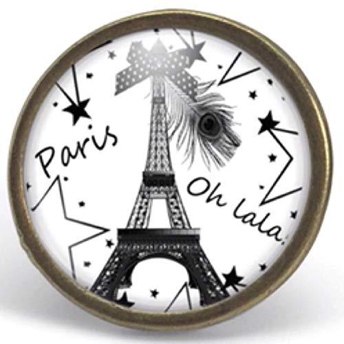 Idee Cadeau A Paris.Bague Cabochon Paris Parure Cadeau Noel Cadeau Femme