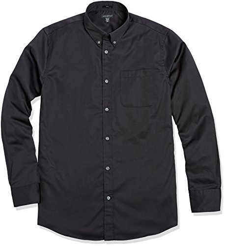 Crafted Collar Men's Slim Fit Button-Down Collar Casual Shirt 15.5