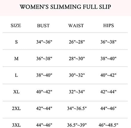 Full Slips for Women Under Dresses Tummy Control Shapewear Slip Slimming Body Shaper Slip