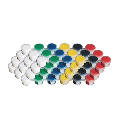 (S&S Worldwide Color Splash! Acrylic Paint Strip, Primary Colors (pack of)