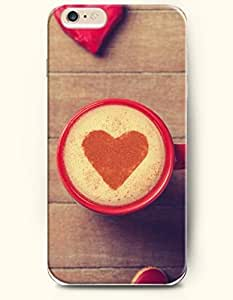 OOFIT Apple iPhone 6 Case 4.7 Inches - Love and a Cup of Coffee