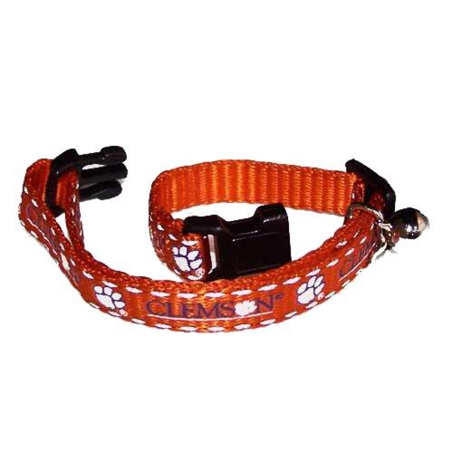 Pet Goods Collegiate 3/8-Inch Cat Safety Collar, Clemson University