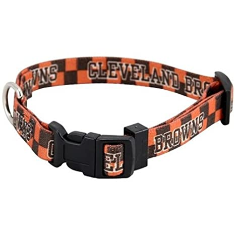 Hunter New Small Cleveland Browns Dog Collar