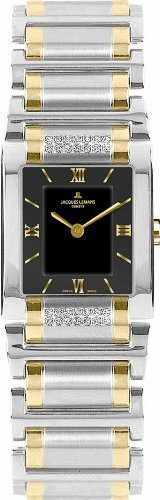 Jacques Lemans Women's G-117I Gloria Classic Analog Sapphire Glass and Genuine Diamonds Watch