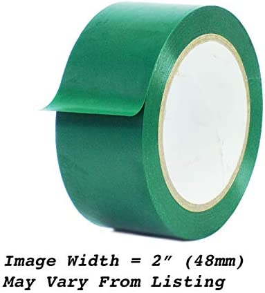 SPVC Emerald Green Vinyl Tape 1 inch x 36 yd 1 roll