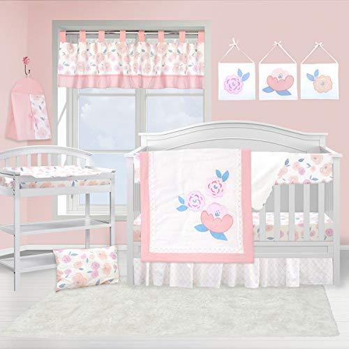 (Pam Grace Creations 13 Piece Crib Bedding Set,)