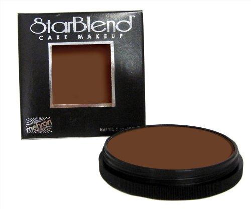 Mehron Makeup StarBlend Cake (2oz) (MEDIUM EBONY)
