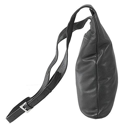 VOI Crossover 10300 Damen Schultertasche Shoulderbag Leder blau Gwif72vpl