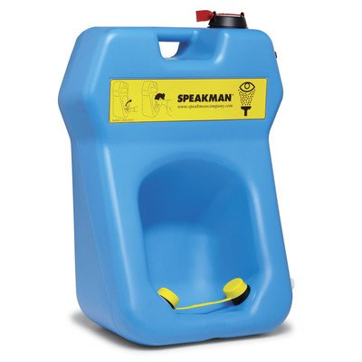 GravityFlo Emergency Portable Eye Wash Optional Accessory: Without Drench Hose by Speakman