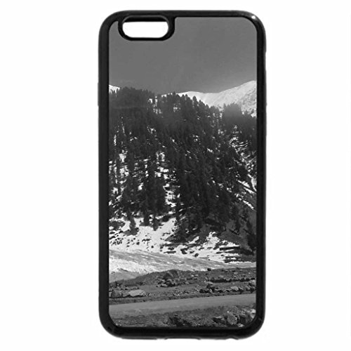iPhone 6S Case, iPhone 6 Case (Black & White) - naran