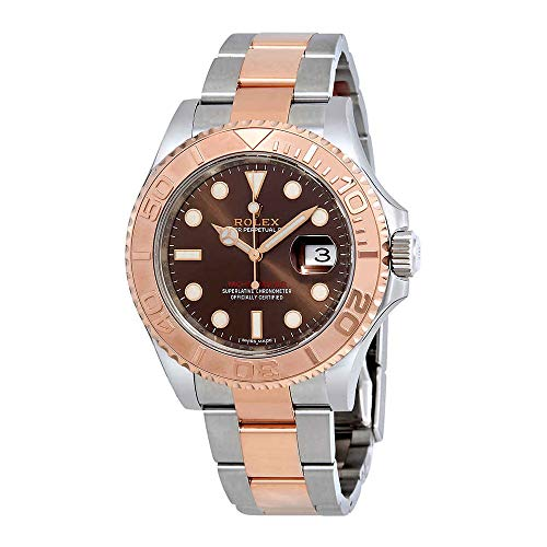 Rolex Yacht-Master Chocolate Dial Steel and 18K Everose Gold Oyster Mens Watch 116621CHSO from Rolex