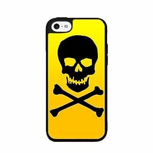 Skull Crossbone - Plastic Phone Case Back Cover iPhone 4 4s