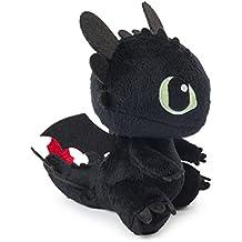 DreamWorks Dragons,  8 Inch Premium Plush - Toothless