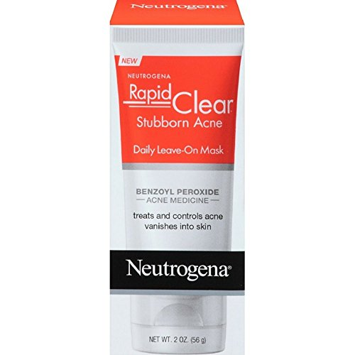 Neutrogena Rapid Clear Leave-In Mask 2 Ounce (59ml) (2 Pack)