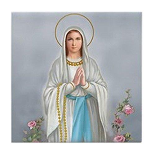 (CafePress - Blessed Virgin Mary - Tile Coaster, Drink Coaster, Small Trivet)