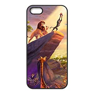 Charming lion and lovely animals Cell Phone Case for iPhone 5S