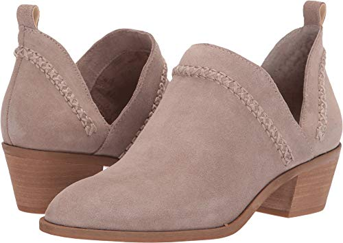 SOLE / SOCIETY Women's Nikkie Taupe 8.5 M US (Thick Sole Booties)