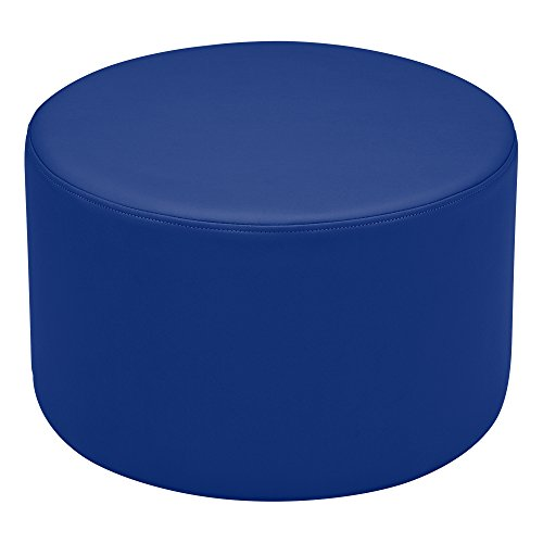 Vinyl Seating - Sprogs Vinyl Soft Seating Round Stool, 12