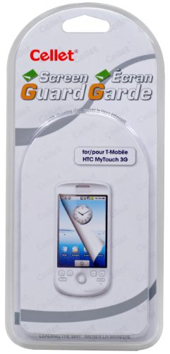 Cellet Super Strong Maximum Protection Screen Protector for HTC myTouch 3G