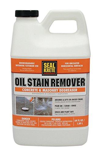 - Seal-Krete 141064 Oil Stain Remover, 64 oz