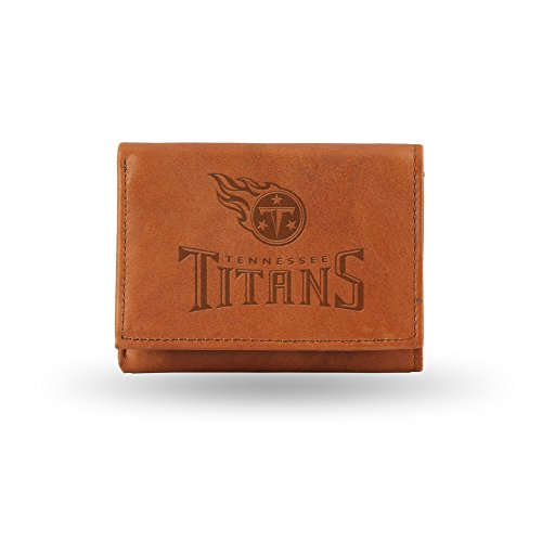 NFL Tennessee Titans Embossed Leather Trifold Wallet
