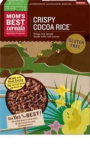 Mom's Best - Crispy Cocoa Rice - 13 oz (Pack of 3)