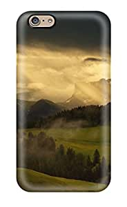Tpu Shockproof Scratcheproof Scenic Hard Case Cover For Iphone 6