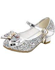 mama stadt Meisjes Prinses Schoenen Ballerina Meisje Glanzende Kristallen Schoenen Kinderschoenen voor Prinseskostuum Hakken Schoenen Maat 26-38