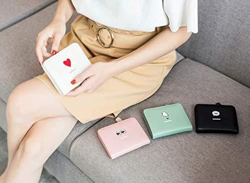 Per Ricamo Sottile Corto Nero Pink Adorabile Carte Donna Con Portafogli E Portafoglio xC1U6gqW