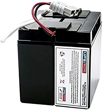 APC Back-UPS Pro 400VA BK400I Compatible Replacement Battery by UPSBatteryCenter