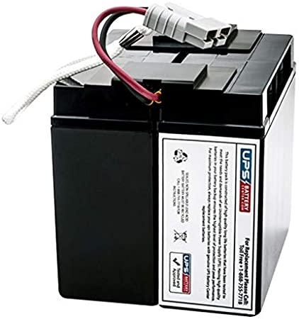 APC Back UPS RS 1500VA LCD BR1500LCD Compatible Replacement Battery Pack by UPSBatteryCenter