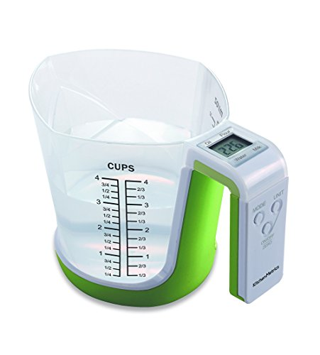 Digital Measuring Cup Scale - Digital Kitchen Food Scale and Measuring Cup