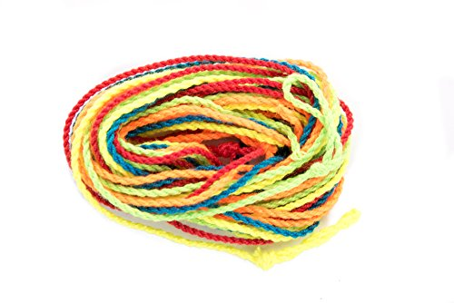 Yomega YoYo Multi Color String - 5 strings per package.  (colors may vary) (Yoyo Professional With String)